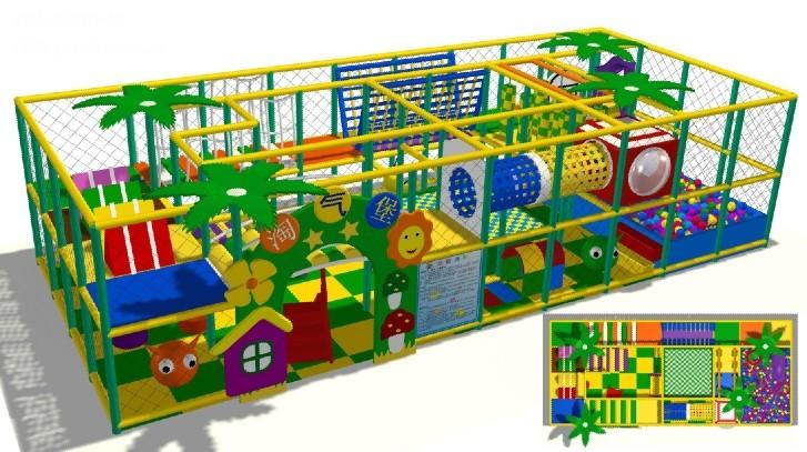 厂家直销淘气堡儿童游乐园  郑州大洋专业定制室内淘气堡项目儿童游艺设施设备示例图3