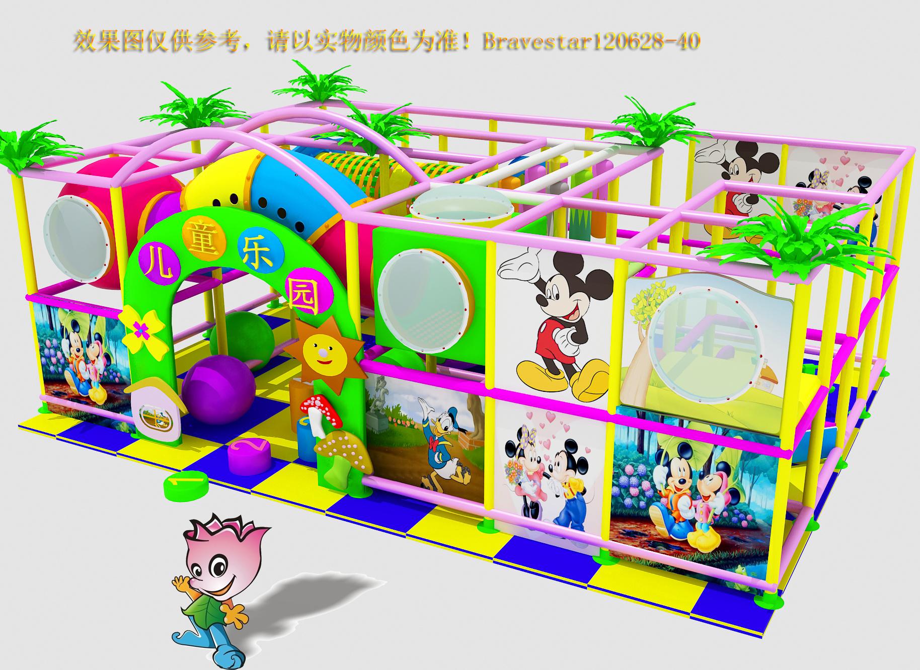 厂家直销淘气堡儿童游乐园  郑州大洋专业定制室内淘气堡项目儿童游艺设施设备示例图8