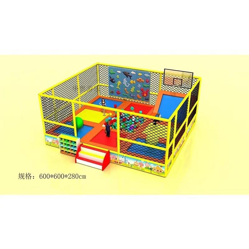 精品推荐室内游乐淘气堡 款式新颖 郑州大洋淘气堡儿童游乐园示例图5