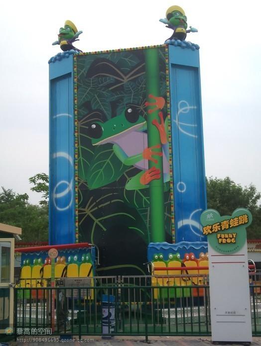 销售火爆公园游乐6座青蛙跳 迎六一十一大洋直销大型弹跳青蛙跳项目示例图8