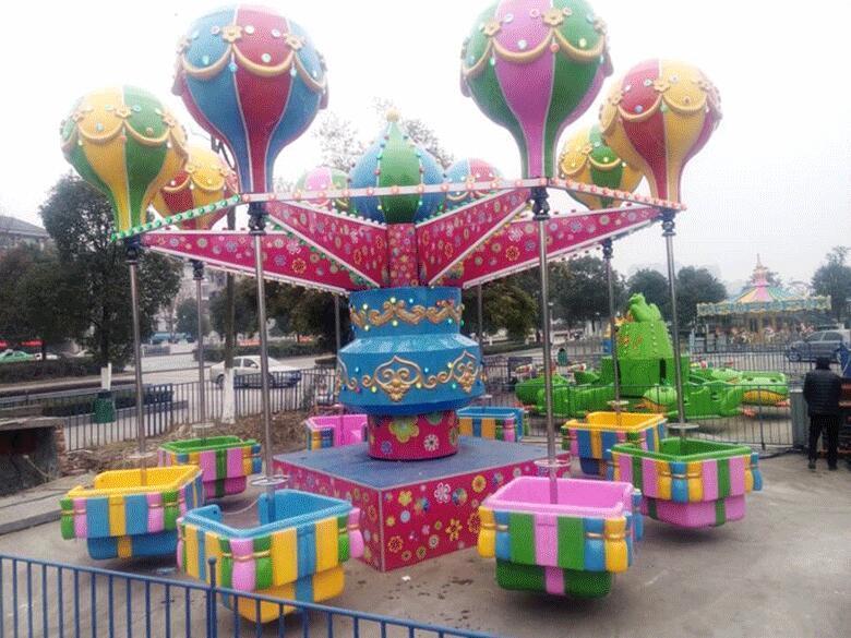 2020郑州大洋游乐设备8臂桑巴气球 儿童游乐厂家直销24座桑巴气球项目示例图2