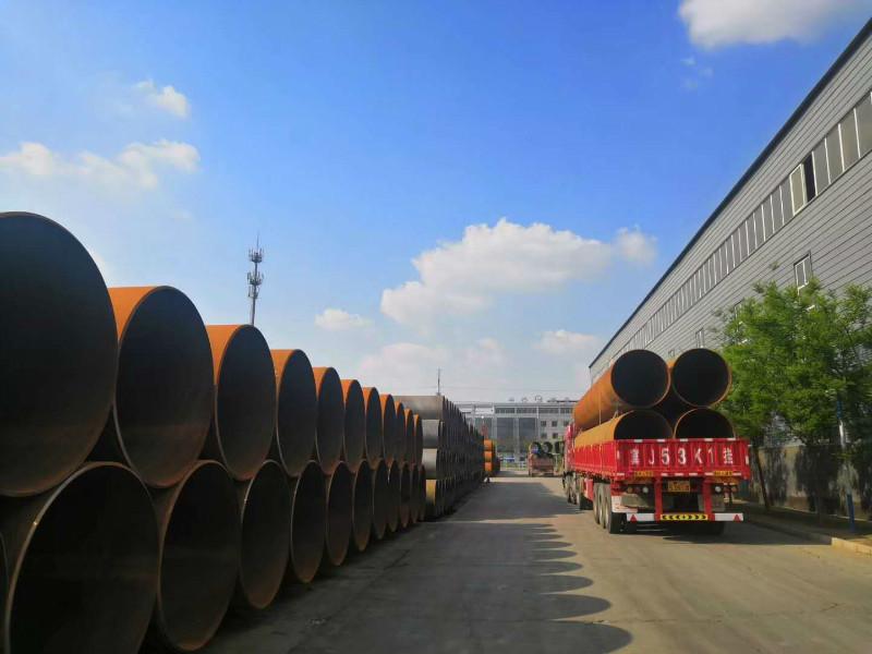 国标螺旋钢管保探伤螺旋钢管 9711螺旋钢管 探伤焊接钢管厂家选择我们神舟钢管示例图7