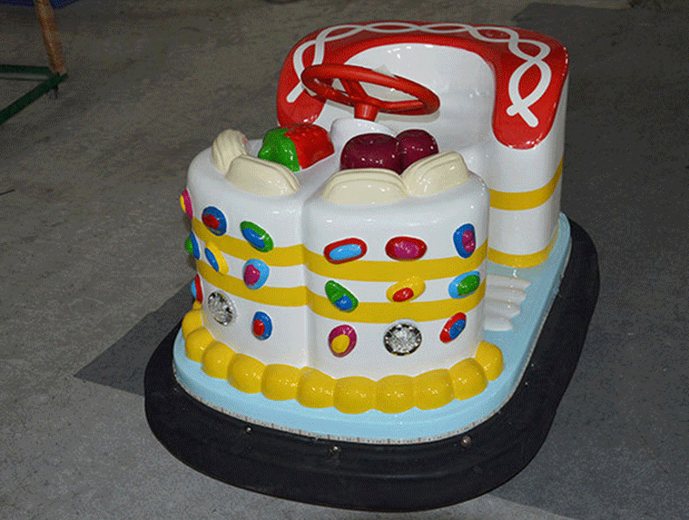 郑州大洋游乐专业定制现货供应儿童蛋糕碰碰车,蛋糕电动碰碰车示例图4