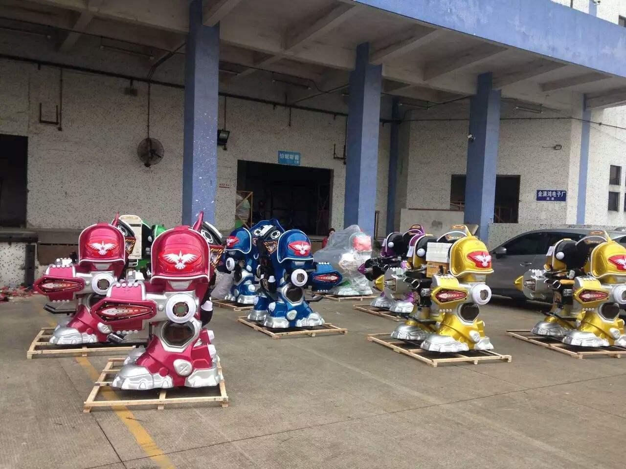 大洋广场小投资项目机器人战火金刚游乐设备 广场行走可乐侠机器人示例图6