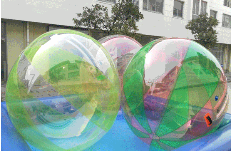 儿童游乐设备水上步行球 厂家批发 大洋现货供应彩色水上步行球项目游艺设施示例图6