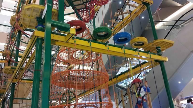 2020大洋游乐厂家直销儿童拓展,新款拓展训练冒险攀爬游乐项目游艺设施设备示例图10