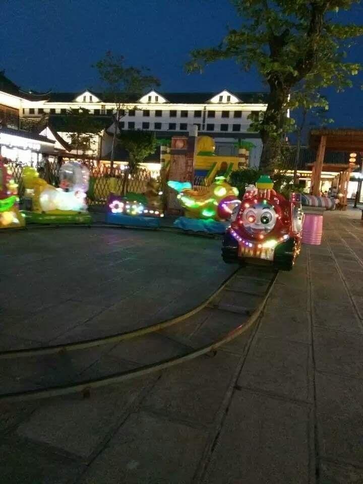 2020郑州大洋现货供应托马斯小火车 阿丽山小火车 卡通轨道小火车项目游乐设备儿童游艺设施厂家示例图17