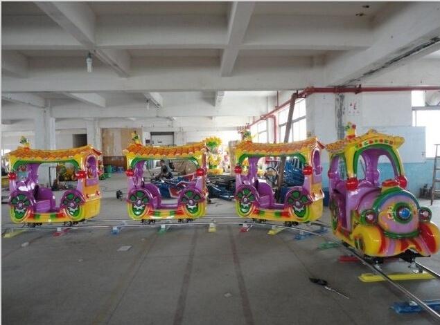2020郑州大洋现货供应托马斯小火车 阿丽山小火车 卡通轨道小火车项目游乐设备儿童游艺设施厂家示例图14