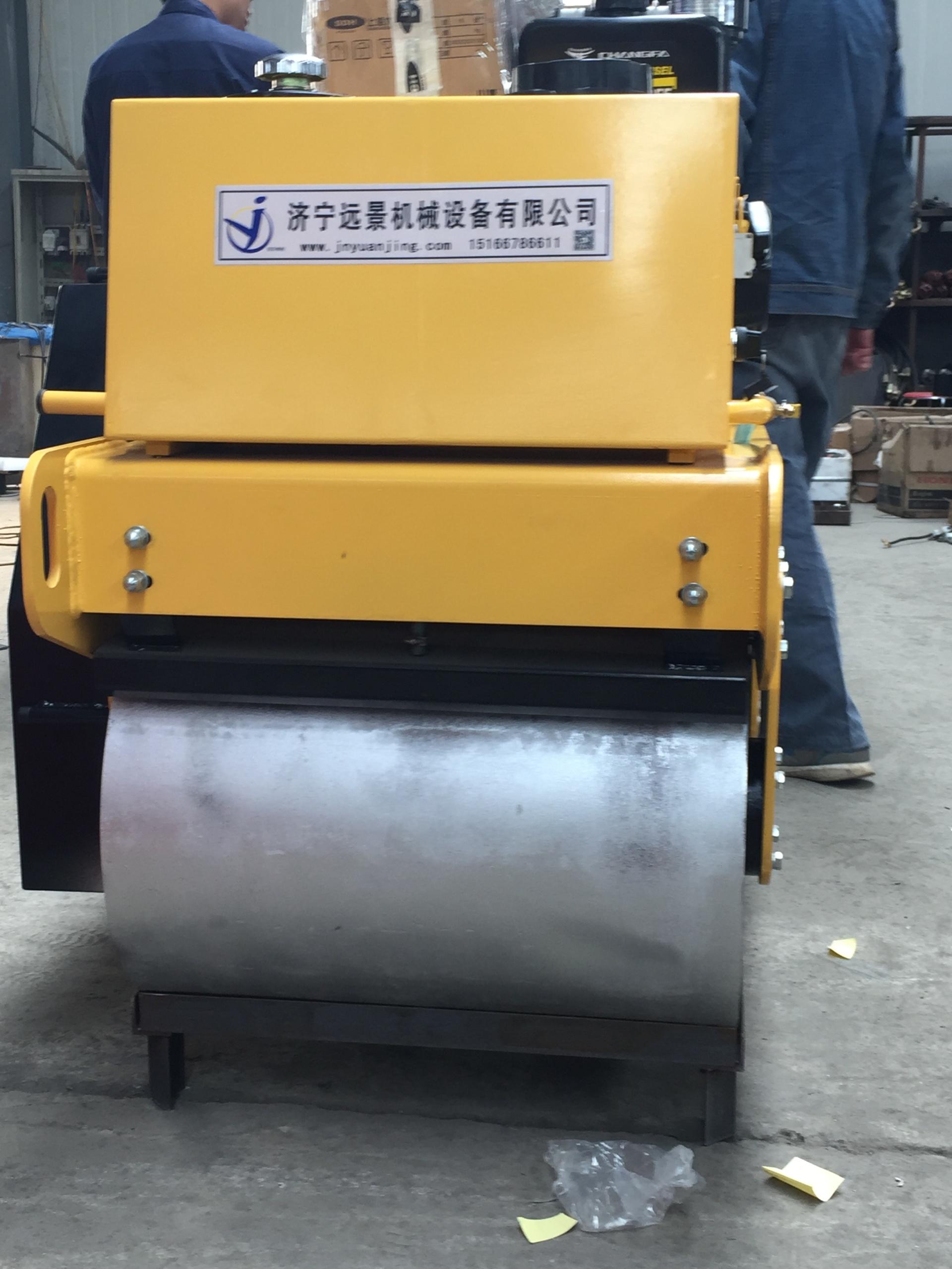 远景机械热销重型单轮压路机 加重款YJ730柴油压路机 手扶式压路机 小型压路机示例图12