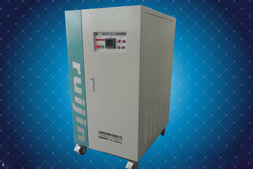 瑞进变频电源,100KVA三相频率可调电源,440V60HZ变380V50HZ电源示例图4