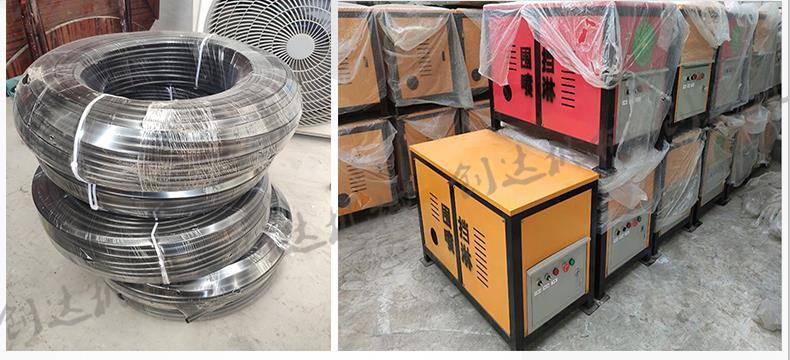 创达 建筑工地围挡喷淋系统 降尘抑尘喷雾装置 车间喷淋机  喷淋装置 厂家直供示例图13