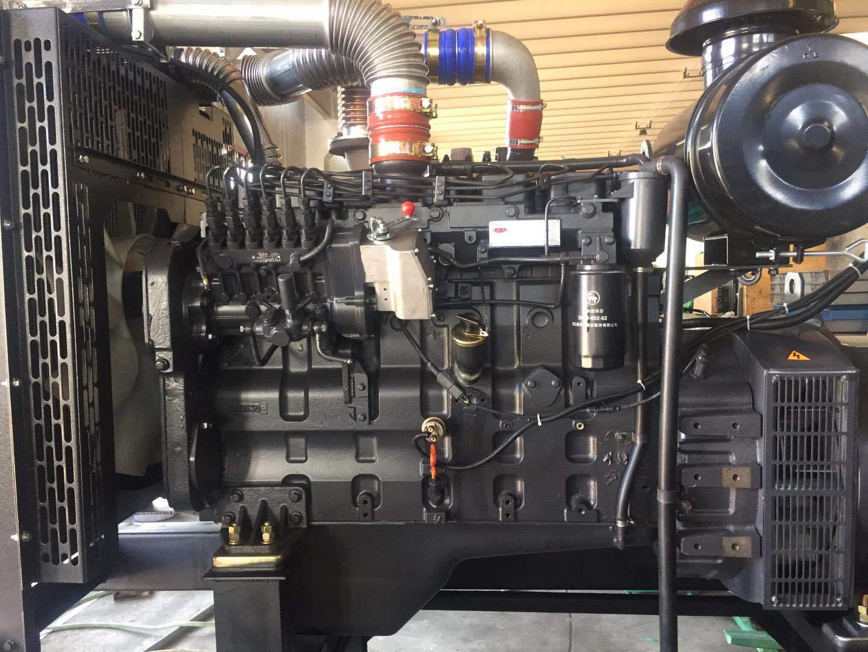 上海凯讯150KW柴油发电机组 配上海斯坦福电机 纯铜电机 电压220V/380V 电流270A 欢迎新老顾客考察参观示例图3