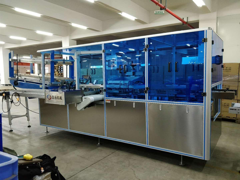 自动装盒机 纸盒折盒成型机 RY-ZH-80 荣裕智能机械 开盒机入盒包装机械生产厂家示例图38