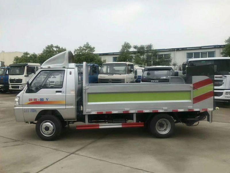 福建漳州蓝牌垃圾桶清运车可装12-14个垃圾桶厂家现货直销 全国送货到家