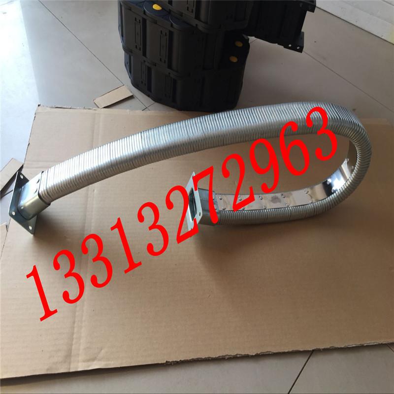 35.60JR-2矩形金属软管 线缆保护金属软管 金属矩形管 穿线矩形管 穿线拖链纯金属原材料制成示例图7
