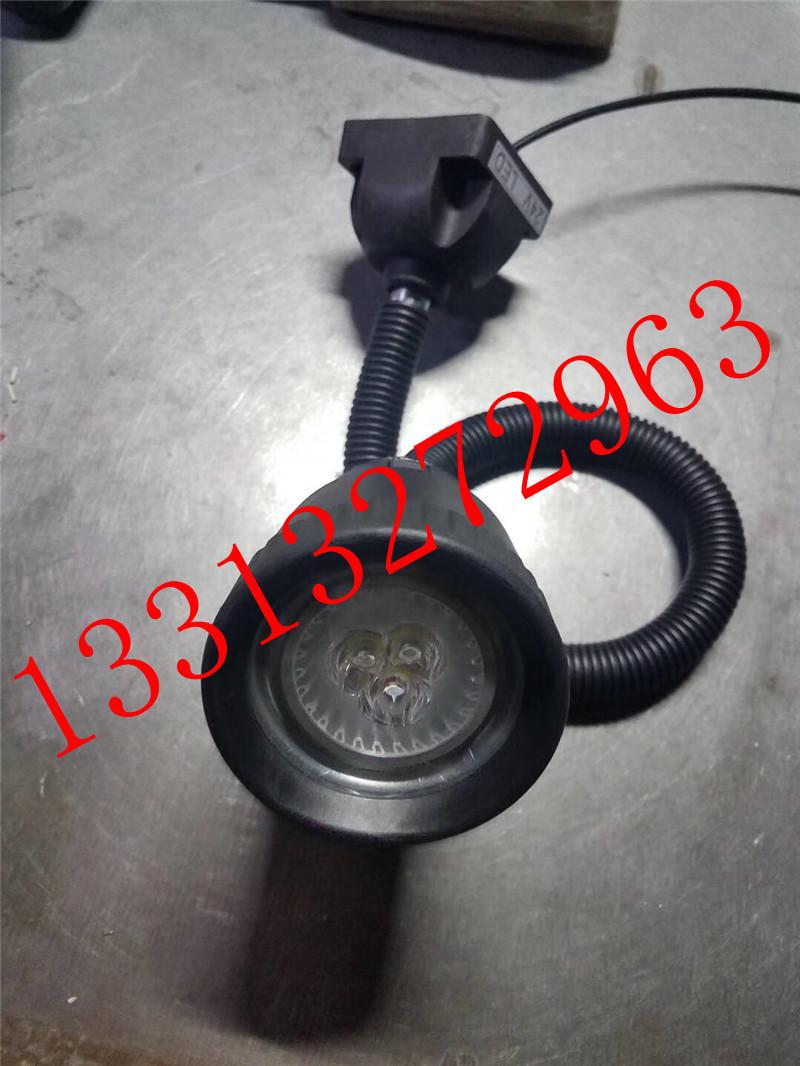 220VLED分散片照明灯 50D软管万向小方座工作灯 5珠工作灯 LED机床工作灯示例图3