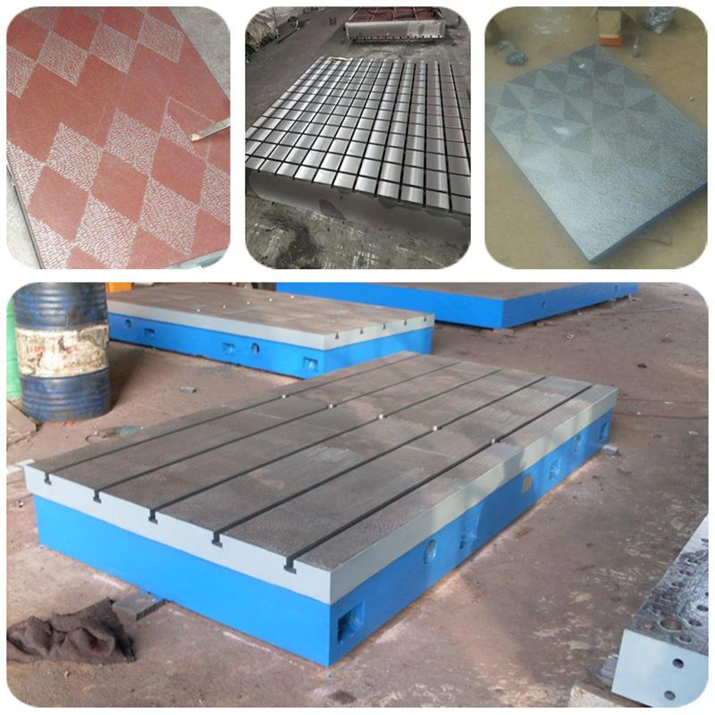 苏州划线铸铁平台 佳鑫1米2米3米4米6米发动机试验工作台 铸铁焊接平板价格示例图6