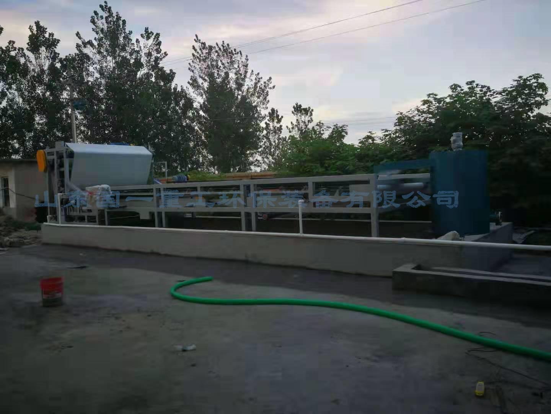 諸城 國一洗沙污水處理 泥漿壓濾機全國送貨安裝上門