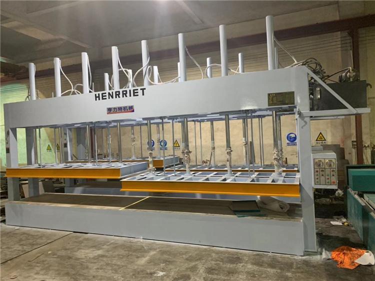 今日特價亨力特機械160噸,空調板,冷庫板,車廂板,整體衛浴發泡板,聚氨脂發泡板熱壓機示例圖23