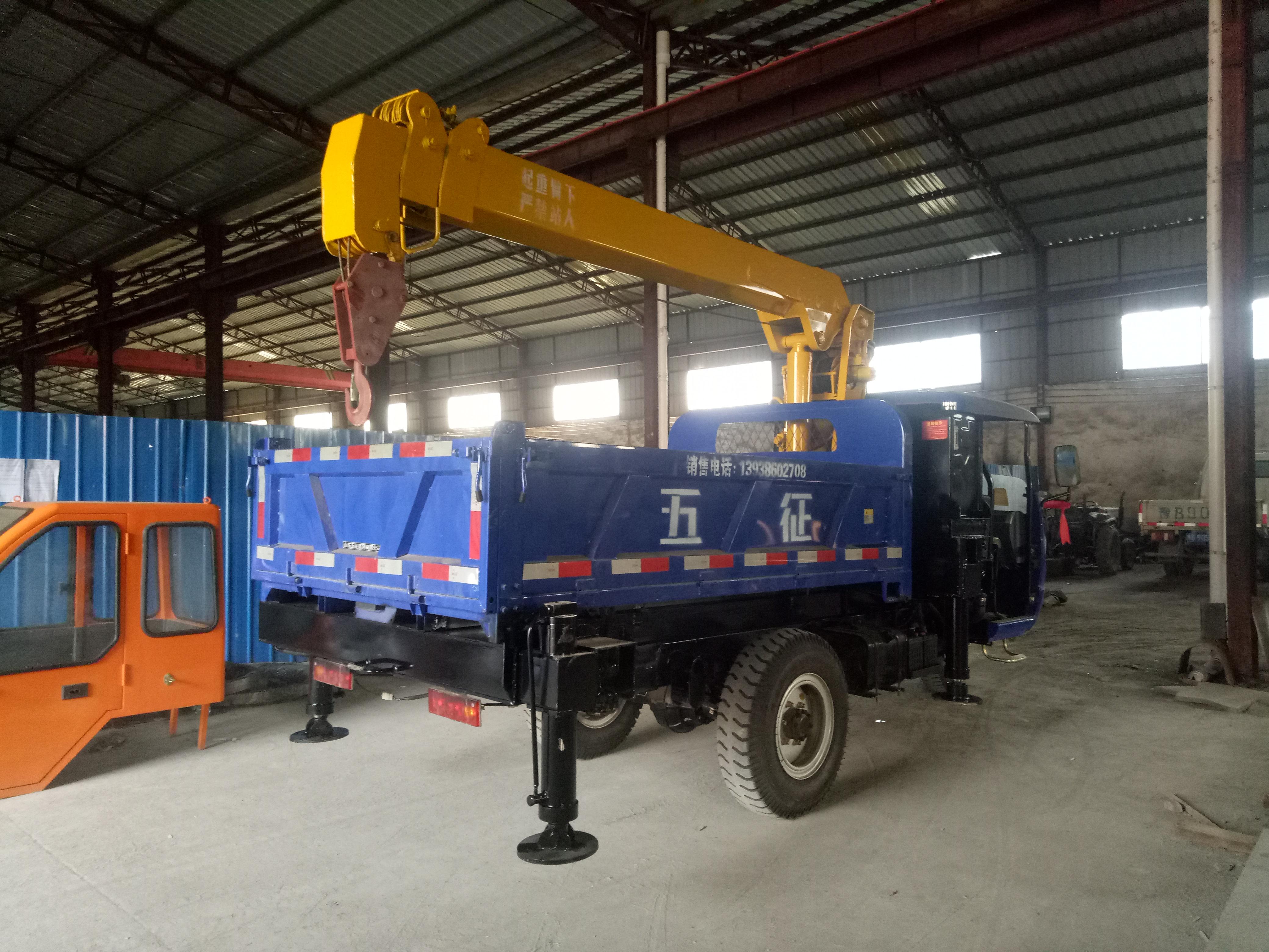 3.2吨随车吊 东风福瑞卡随车吊 制造厂家