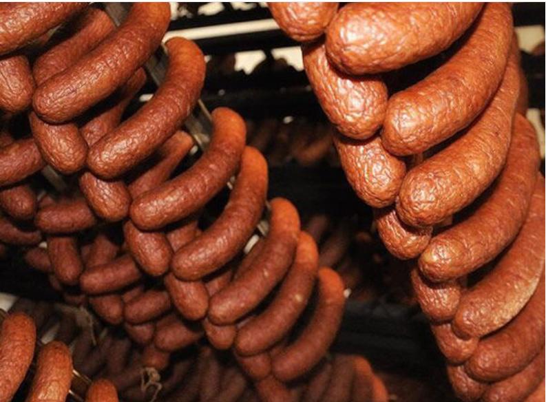 肉制品全套加工设备 腊肠全套加工设备 全自动灌肠机生产厂家示例图1