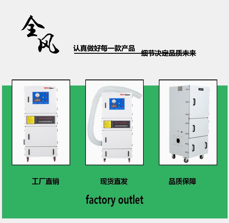 磨床打磨粉尘集尘器 5.5KW打磨移动柜式工业吸尘器 工业磨床打磨抛光专用集尘器示例图2