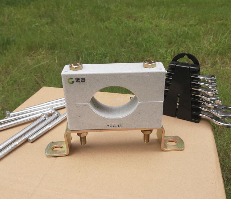 远能非磁性高压单孔电缆夹具 电缆固定卡生产示例图2