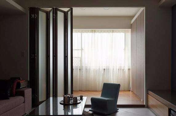 丽江金意享铝合金折叠门 酒店会所商场重型折叠大门 空间开启大示例图17