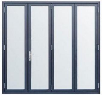 丽江金意享铝合金折叠门 酒店会所商场重型折叠大门 空间开启大示例图11
