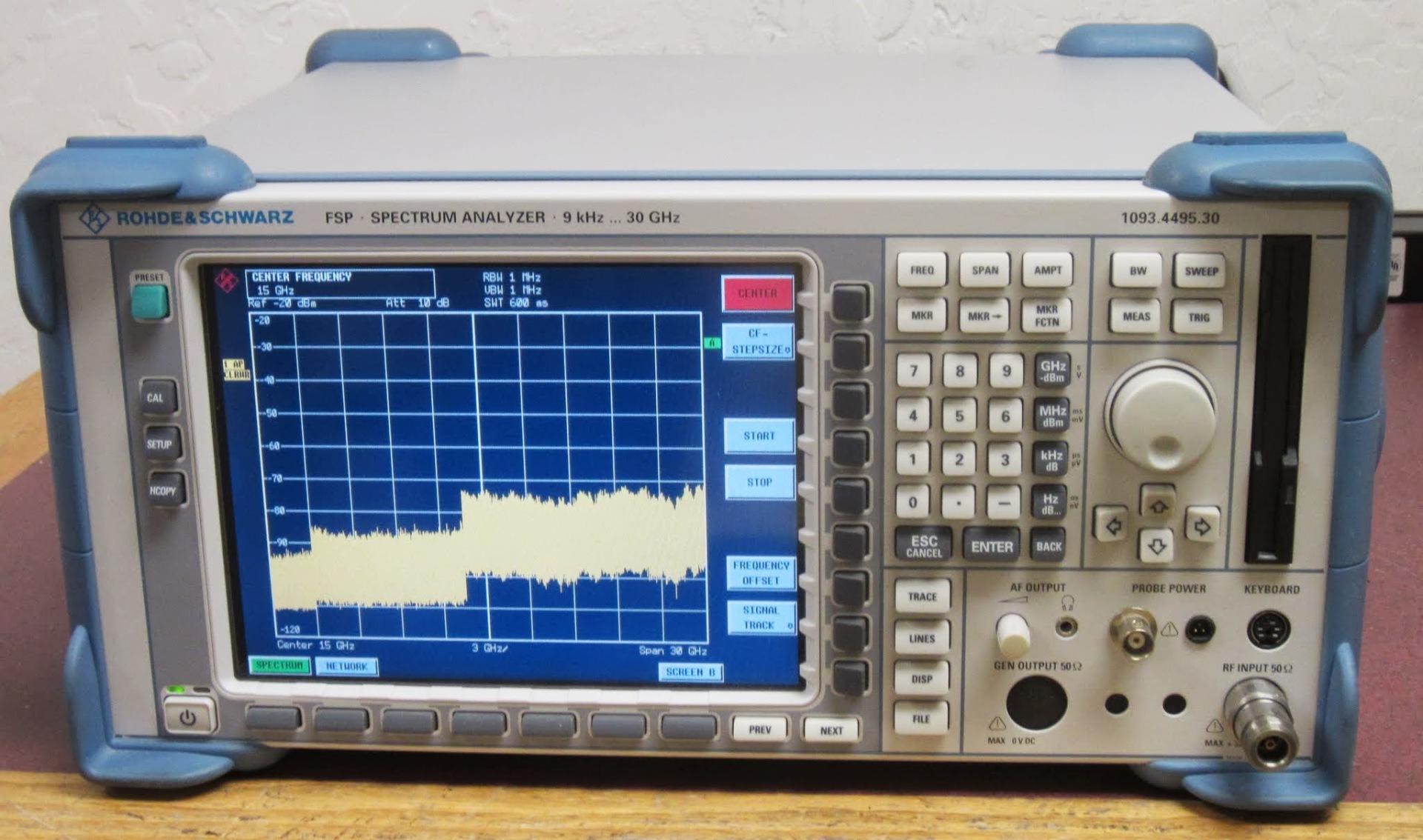 科瑞 频谱分析仪 FSP30频谱分析仪 罗德与施瓦茨频谱分析仪 现货促销示例图1