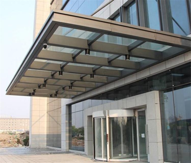 上海赛轩雨棚,不锈钢雨棚,玻璃雨棚,上海雨棚厂家示例图19