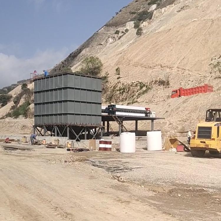 机制沙泥浆处理机器、污泥脱水机、压滤机(XZ250/1250-U)示例图8