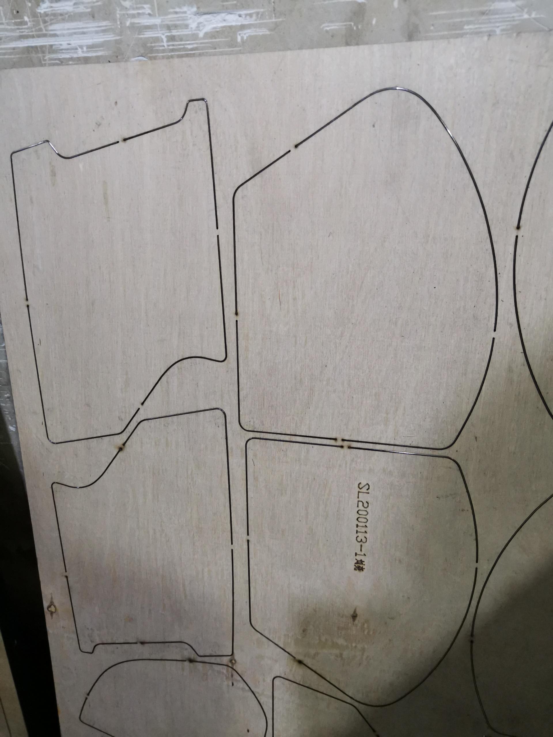 1325型易铭400w木板刀模切割机  可切割18mm厚600W激光切割设备示例图5