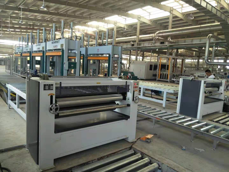 亨力特液壓全自動輸送冷壓機HLT3248-50t,木工家具板材復合冷壓機示例圖8