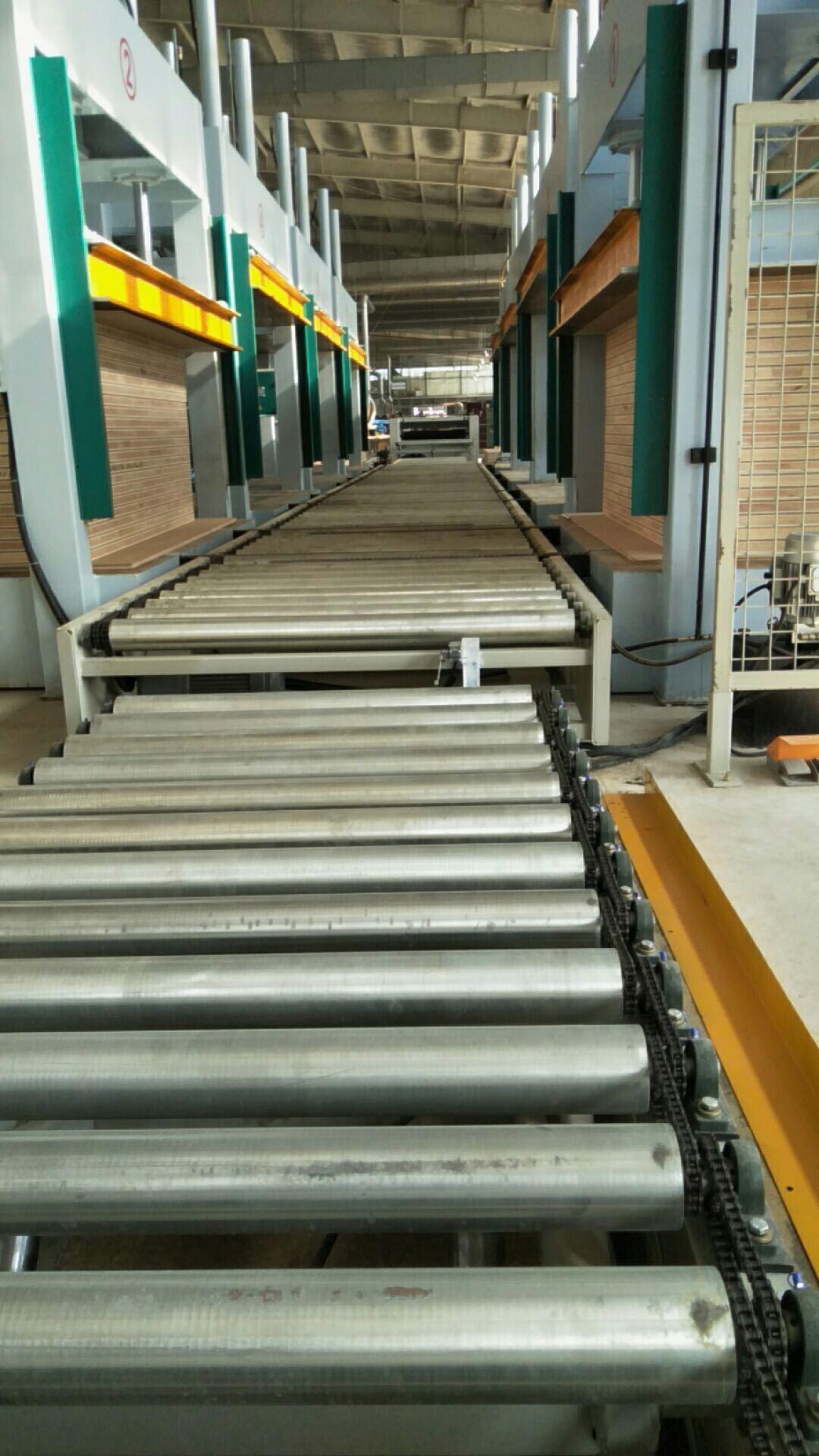 亨力特液壓全自動輸送冷壓機HLT3248-50t,木工家具板材復合冷壓機示例圖4
