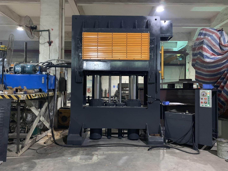 亨力特hlt3248-600t三聚氰氨貼面熱壓機,木工家具貼面熱壓機,生態板貼面熱壓機,尺寸非標可以定制示例圖21