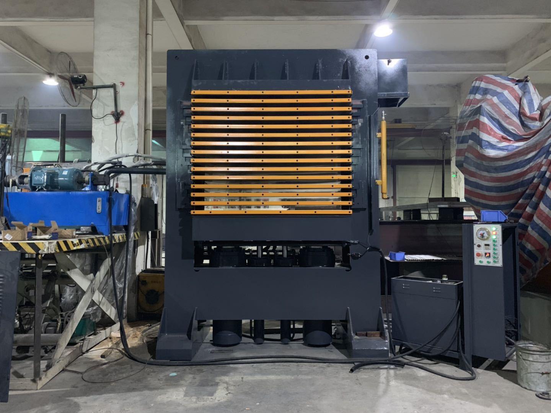 亨力特hlt3248-600t三聚氰氨貼面熱壓機,木工家具貼面熱壓機,生態板貼面熱壓機,尺寸非標可以定制示例圖20