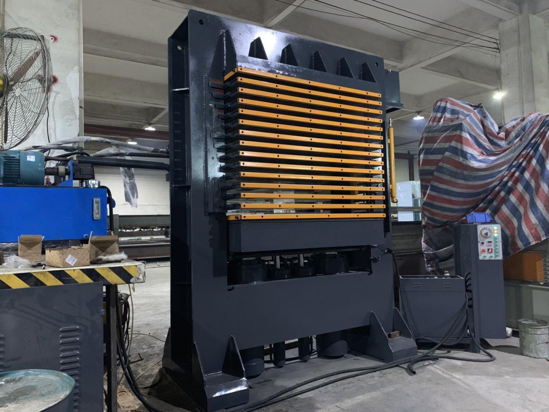 亨力特hlt3248-600t三聚氰氨貼面熱壓機,木工家具貼面熱壓機,生態板貼面熱壓機,尺寸非標可以定制示例圖16