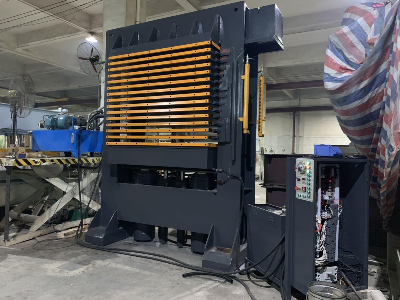 亨力特hlt3248-600t三聚氰氨貼面熱壓機,木工家具貼面熱壓機,生態板貼面熱壓機,尺寸非標可以定制示例圖14