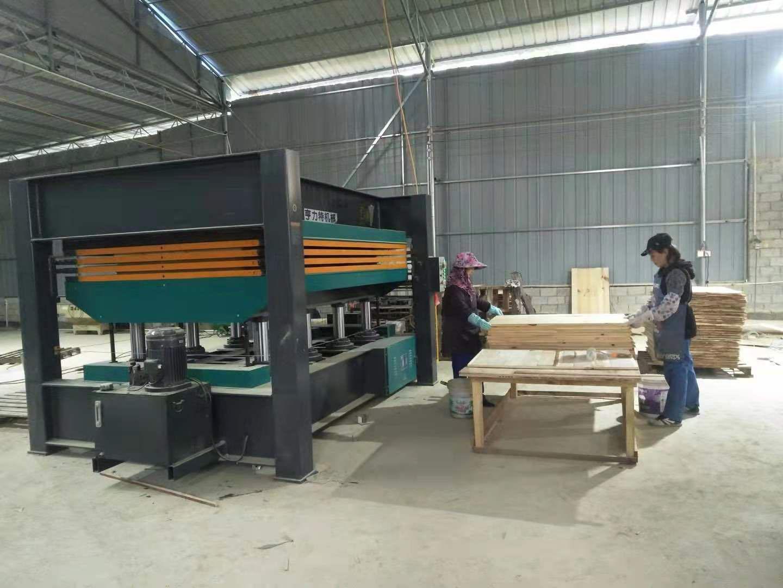 亨力特hlt3248-600t三聚氰氨貼面熱壓機,木工家具貼面熱壓機,生態板貼面熱壓機,尺寸非標可以定制示例圖19